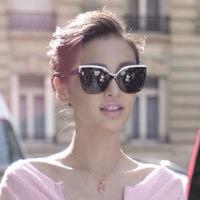 2014 New Arrival Women Brand Designer Cat Eye Sunglasses Dr EXQUISE Women Sunglasses Sun Glasses Oculos De Sol Original Box
