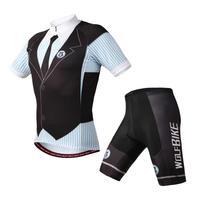WOLFBIKE Bicicleta Bike Jersey cycling jersey short sleeve Cycling wear shorts sets Can be mixed size
