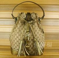 2014 new G bag canvas bucket bag leisure fashion mobile messenger shoulder Backpack Bag