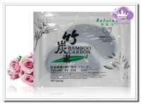 50 pairs/lot Bamboo charcoal eye mask is stuck Crystal mask get Eliminate black rim of the eye pouch eye wrinkles