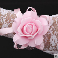 Sisters flower bridesmaid hand flowers The bride wrist flowers  wedding supplies rose flower