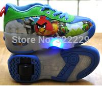 Boys Heelys roller shoes flash boy / girl automatic paragraph Heelys