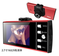 Free shipping! Full HD 1080P Car Camera   Night Vision Car dvr Camera video Recorder 2.7 inch LCD  black box