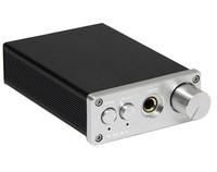 SD-793II Mini DAC DIR9001 + PCM1793 + OPA2134 Coax/Optical Input + Headphone amplifier Silver color