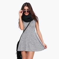 Women Dress Fashion Round Collar Short Sleeve Slim Waist Short Style Elastic Casual Cotton Party Dress Six Size Plus Size D660