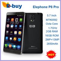 Original Elephone P8 Pro Android 4.4 MTK6592 Octa Core 5.7 Inch 720P HD 2GB RAM 16GB ROM 13MP Dual Sim 3G Mobile Phone In Stock