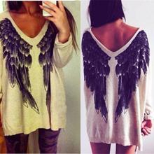 Nuevas alas de la personalidad de la rebeca del suéter caliente 2014 Hi- Q mujeres cuentan con vestido ocasional suéter suéteres de moda vestido de invierno para mujer(China (Mainland))