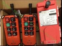 Free shipping industrial remote controller 18-65V.65-440V   2 transmitter + 1 receiver Industrial remote control electric hoist
