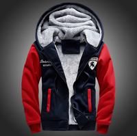 winter jacket Men Long Korean mens windbreaker thicken plus velvet warm hooded detachable coat jackets outwear