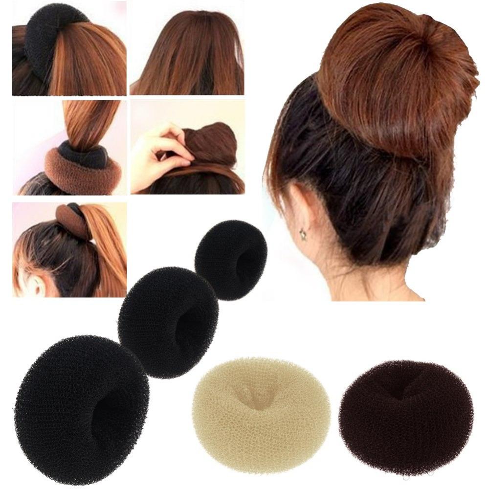 Hairdisk Hair Bun Chignon Donut Shaper Ring Circle Former Sytle Doughnut Tie Updo(China (Mainland))