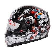Free shipping Genuine LS2 FF358 motorcycle helmet racing helmet full helmet black and red winter madness