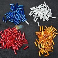 Mountain Bike Bicycle Shifting Cable Caps Color Aluminum Alloy Derailleur Brake Line Core Caps