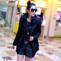 winter down cotton coat girls slim 2014 new Korean lace jacket short down jacket big yards warm female cotton jacket