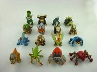 50pcs/lot Mini Animal Figures for 5.5cm Capsule Toys