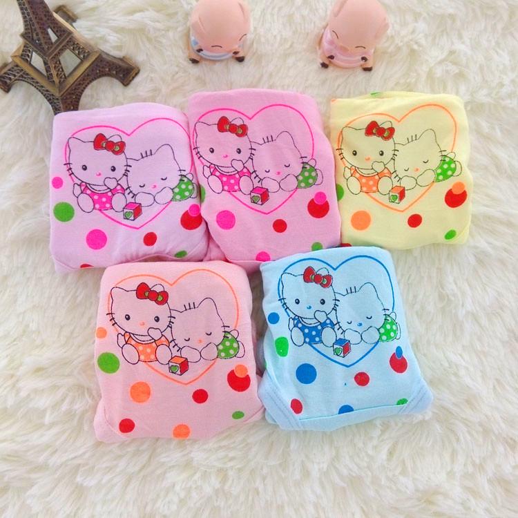 10pcs/lot fashion princess boxer schoolgirl infantil pantalones bragas for girls brief gift(China (Mainland))