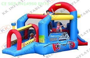 mini Train Jumping House / inflatable baby bouncer(China (Mainland))