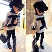 2015 children doll woolen cloak outerwear girl's fashion Jacket  coat