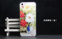 Sun bathing oil painting Design hard phone case for iphone6 6 plus
