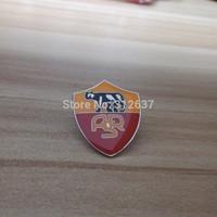 roma athletic club kids training football souvenirs High quality Healthy Metal Soccer Pin Italy Football
