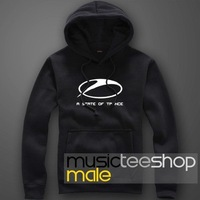 2014 Autumn & Winter Fashion Fleece Hoodie Jacket Armin Van Buuren A State of Trance Hot-selling Freeshipping
