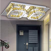 LED K9 crystal aisle lights   corridor porch lamp square ceiling lamps led ceiling light