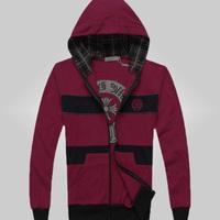 2014 freeshipping youth hoodie zip Jacket Mens cardigan big code Hoodies fashion design sports men's suit 45
