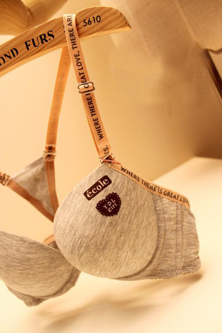 Комплект нижнего белья girls cute cotton lingerie Push Up women's underwear bra sets комплект белья electric lingerie snow leopard бордовый 36dd
