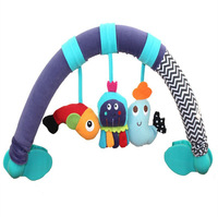 2014 New Arrival Baby Toys 100% Cotton  Stuffed&Plush Cute Animals Toys Rattle Toys Stroller Activity