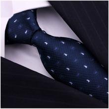 Brand Blue Silk Ties Cravate Neckties Corbatas For Mans Gentlemen Formal Busniess Gravatas Masculinas Gifts for