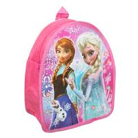 New Arrival Girls School Bags Cartoon Kindergarten Kids Backpack Pink Frozen Princess Sister Hot Movie Child Backpack Book Bag