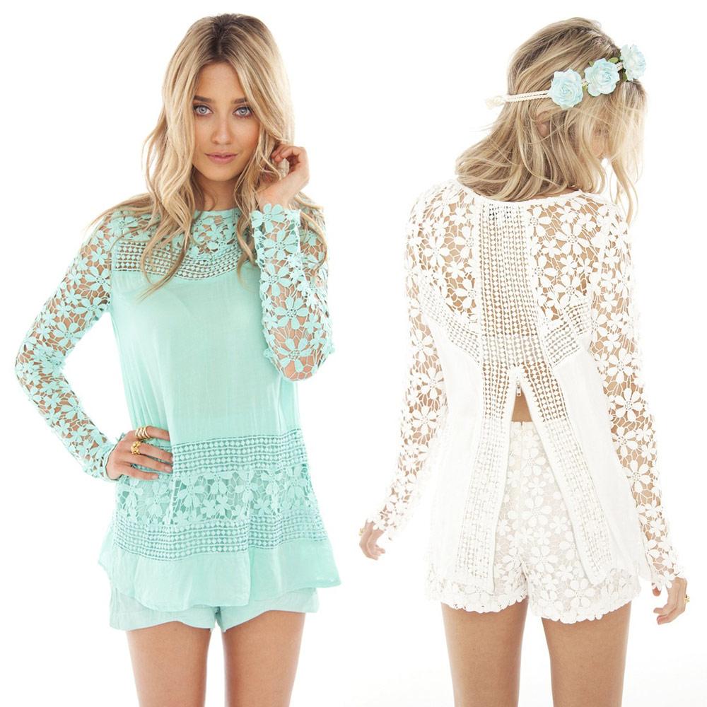 Женские блузки и Рубашки Brand New 2015 Casaul Blusas Femininas Women's Blouse женские блузки и рубашки summer blouse blusas femininas 2015 roupas s