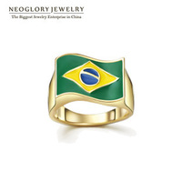2014 Brazil World Cup 14K Gold Plated Jewellery Engagement Rings Wedding Rings Wholesale Jewelry 100% Nickel Free Unique Design