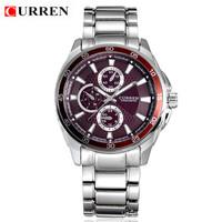 Hot! CURREN Brand Luxury Fashion Man Military Watches 100% Quality Men Clothing Waterproof Quartz Watch