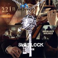 Detective Sherlock The Key to 221B A Sherlock Necklace  DMV509