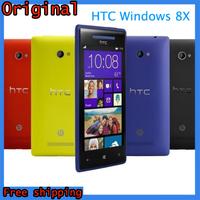 "100% Original HTC 8X Windows Phone Unlocked Dual-Core 1.5GHz 16GB Win8 OS 8MP 4.3""IPS 1280x720px 3G GPS Smartphone Refurbished"