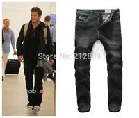Black color jeans ,2014 new mans jeans brand ,high fashion designer brands jeans men ,jeans disel men