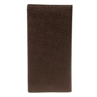 Long Style PU Leather Men's Wallet Dark Coffee