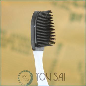 Бамбуковый уголь и нанометр пух мягкую зубную щетку , импортируемых из японии с головой ...