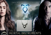 """The city of bones"""" star power with film and TV accessories angel's mortal instruments clavicle necklaceYP0031"""