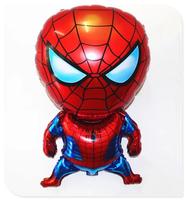 NEW !!Aluminum Happy Spiderman Red Balloon for spiderman party supplies Decoration Cartoon spiderman balloon Foil Ballon