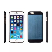 New 2015 Luxury Aluminum Case for iPhone 6 4.7 Inches Phone Hard Aluminum Skin Plastic Back Cover Brand Free shipping