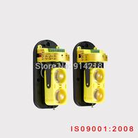 New 2 beams frequency adjustment active infrared detector waterproof/rain proof/dust proof beam sensor alarm security system