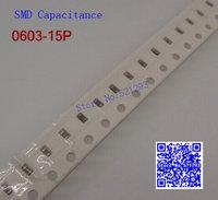 0603 15P 0603 SMD capacitance / SMD capacitors 100PCS/LOT
