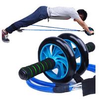 Handfuls rope ab wheel abdominal wheel ab thin waist fairload mute fitness equipment household