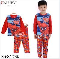 X-684 pajamas clothes sets fashion cartoon elsa anna olaf kids baby girls children pajamas clothing sets spring autumn clothes