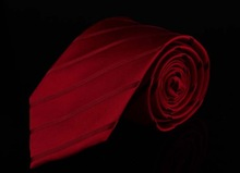 Brand Classical Solid Red Men Silk Ties Corbatas For Gentlemen Wedding Dress Gravatas Masculinas Seda Neckties