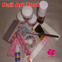 15pcs/set Crystal Powder Gel Nail Glitter Nail Forms Toe Finger Sepatator Nial Art Rhinestone Polishing Blocks Nail Tools Set