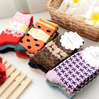 Autumn&Winter Women Thicken Rabbit Hair & Wool Socks Cute Warm Socks High Quality  Thick Thermal Socks