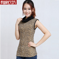 Free shipping new warm coat female taxi velvet thick outer wear oversized plus fertilizer high collar vest