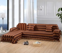 2015 New Sofa Covers for Home textiles Brown Short plush fabric Double Sofa cover corner Pillow cover full sectional covering
